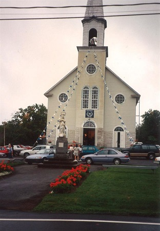 Église de Saint-Philibert. Source de la photo : Site Web de la municipalité.