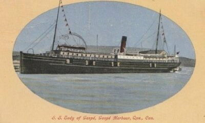 Lady of Gaspé, ancienne carte postale de 1911