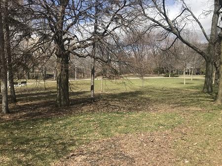 Parc Raimbault. Photo de GrandQuebec.com.
