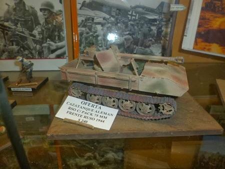 Canon anti-tanque. Cazatanque autopropulsé aleman RSO C/Pack 75 mm. Le front en Russie, 1944.