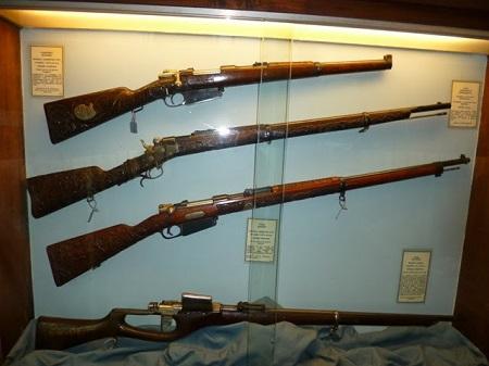 Fusil Mauser, carabina mauser, fusil Remington, prototipo d'un fusil.