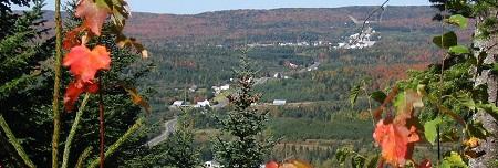 Vue générale de la municipalité de Saint-Luc-de-Bellechasse. Source de l'image : Site Web de la municipalité.