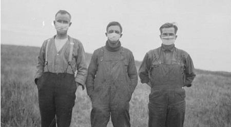 La grippe espagnole tue tellement de Canadiens en 1918