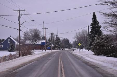 Vue de la municipalité de Lefebvre. Source de la photo : Site Web de la municipalité.