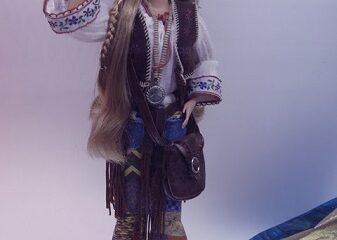 L'intention vaut le fait. Une hippie photographiée par Megan Jorgensen.