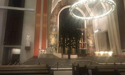 """""""La loyauté est la base des assemblées."""" L'intérieur de l'Oratoire Saint-Joseph de Montréal. Photo de Megan Jorgensen."""