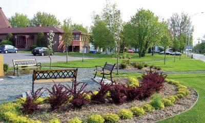Regard sur la municipalité du village de Saint-Célestin. Source de la photo : Site Internet de la municipalité.
