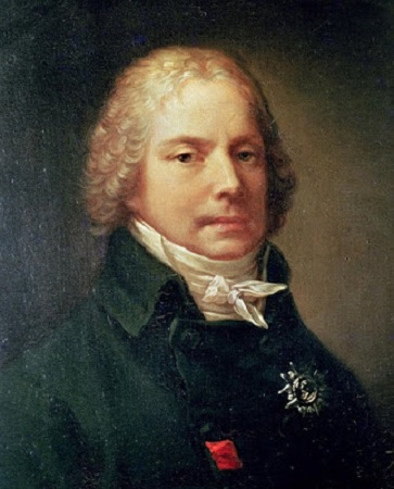 Charles-Maurice de Talleyrand-Périgord,  portrait par Pierre-Paul Prud'hon, 1809 (Château de Valençay).