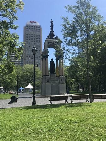 Monument à sir John Alexander Macdonald. Photo de Megan Jorgensen.