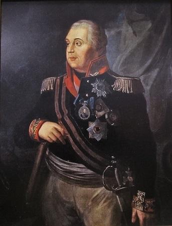 Mikhaïl Koutouzov (peinture de R. Volkov, 1813).