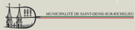Logo de St-Denis-sur-Richelieu