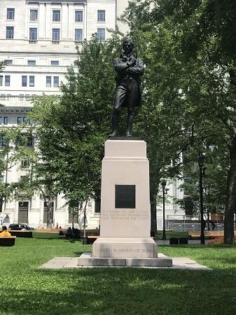 Monument à Robert Burns. Photo de Megan Jorgensen.