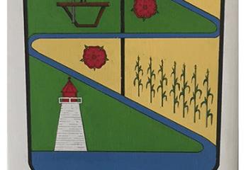 Beaudet : Vers 1787 a été construite la première scierie de l'actuel Comté de Soulanges Enclume : Représente la forge qui était installée dans le village Maïs : Représente l'agriculture de notre municipalité Phare : Construit en 1859 il fût fonctionnel jusqu'en 1950 environ, il dû être démoli en 2015 Rivière : Qui serpente notre municipalité Lac : Dans lequel notre rivière se jette Rose : Qui représente les femmes de Vaudreuil-Soulanges