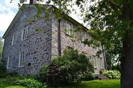 Maison Nathaniel-Douglass. Source de l'image : commons.wikimedia.org/wiki/File:Maison_Nathaniel-Douglass.jpg. Auteur : Cantons de l'Est.
