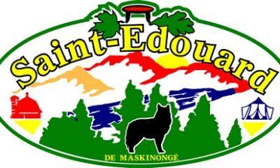 Armoiries de Saint-Édouard-de-Maskinongé.