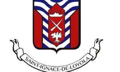 Armoiries de la municipalité de Saint-Ignace de Loyola. Source de l'image : Site Web de la municipalité.