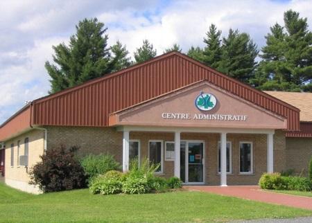 Centre administratif de Sainte-Clothilde-de-Horton. Source de l'image : Site Web de la municipalité.