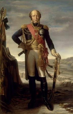 Maréchal Davout, peinture de Tito Marzocchi de Belluci et Pierre-Claude Gautherot.