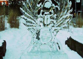 L'Aigle impérial, la nuit du mois de décembre. La dernière nuit avant la bataille. Photo de Megan Jorgensen.