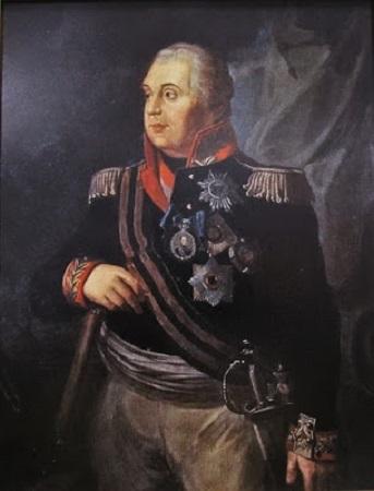 Mikhail Koutouzoff. Portrait de l'époque.