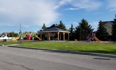 Parc Desjardins. Source de l'image : Site Web de la municipalité de Saint-Esprit.