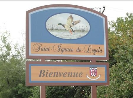 Saint-Ignace de Loyola. Bienvenue.