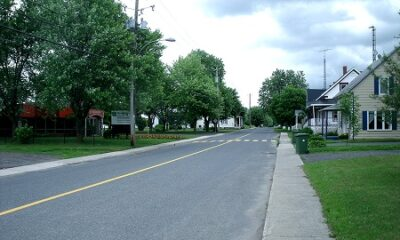 Vue du village de Saint-Bonaventure. Source de la photo : Site Web de la municipalité.