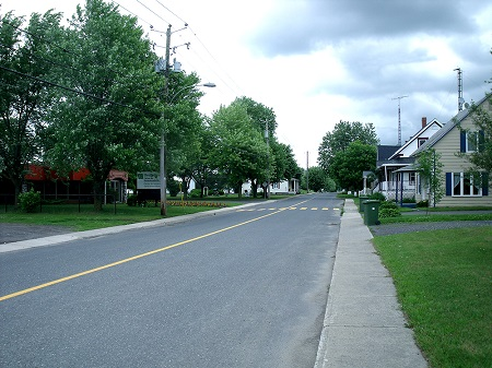 Vue du village de Saint-Bonaventure. Source de la photo : Site Web de la municipalité.