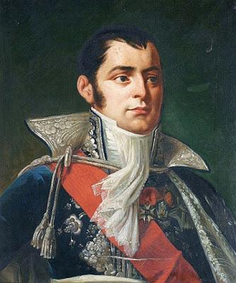 Portrait d'Anne Jean Marie René Savary, duc de Rovigo, par l'artiste peintre Robert Lefèvre  (1755–1830).