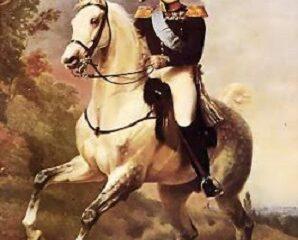 Alexandre, l'empereur de la Russie. Portrait de l'époque.