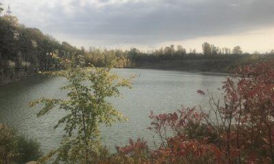 Site d'une ancienne carrière à Laval. Photo de GrandQuebec.com.