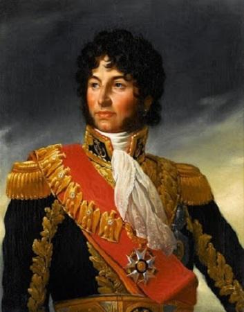 Joachim Murat représenté en 1805 en uniforme d'amiral de l'Empire. Peinture de François Gérard.