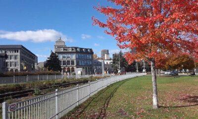 Vieux-Montréal en novembre. Photo de GrandQuebec.com.