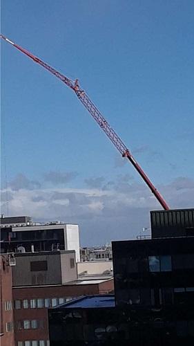 Les oeuvres de construction. Photo de GrandQuebec.com.
