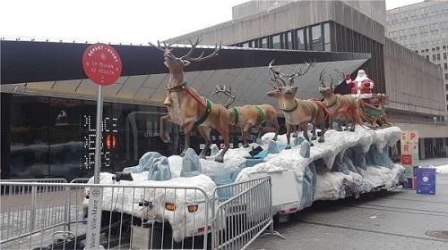 À Noël, on allait à la messe de minuit en carriole