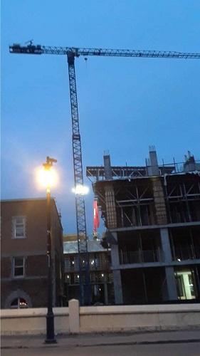 Chantier de construction. Photo de Grandquebec.com.