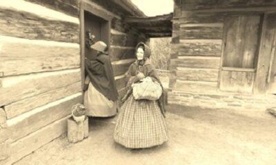 Une femme du XIXe siècle. Photo de Megan Jorgensen.