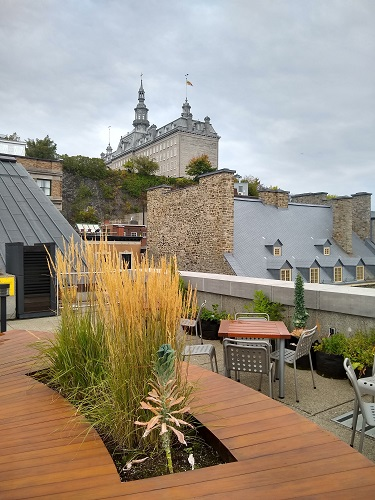 Le Vieux-Québec. Photo d'Anatoly Vorobyev.