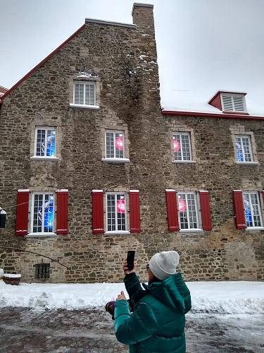 Québec, ville joyeuse. Photo d'Anatoly Vorobyev.