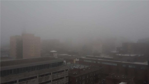 Brouillard. Photo de GrandQuebec.com.