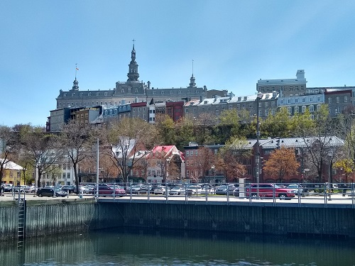 Vue panoramique de la ville de Québec. Photo d'Anatoly Vorobyov.