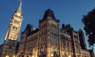 Parlement du Canada. Photo de GrandQuebec.com.