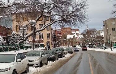 Basse ville de Québec. Photo d'Anatole Vorobyev.