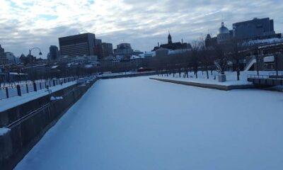 Glace de Montréal.