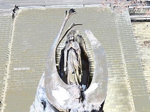 Vierge Marie. Photo de Megan Jorgensen.
