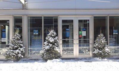 Montréal sous la neige, le 2 janvier 2021. Photo de GrandQuebec.com.