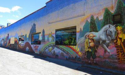 Graffiti. Photo de Megan Jorgensen.
