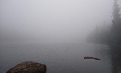 Le passé et le présent. paysage éternel du Nord-du-Québec. Image d'Anatoly Vorobyov