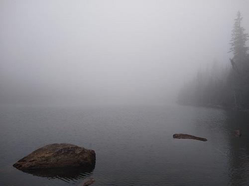 Le passé et le présent. paysage éternel du Nord-du-Québec. Image d'Anatoly Vorobyov.