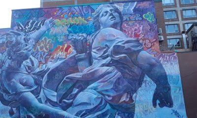 L'art est dans la rue. Photo de GrandQuebec.com.